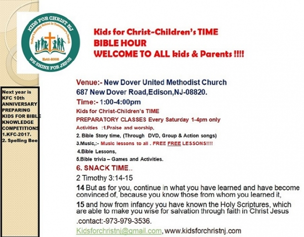 KFCNJ Saturday Bible Hour