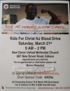 KFCNJ Red Cross Blood Drive